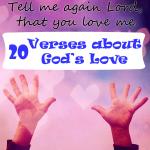 Tell Me Again That Jesus Loves Me