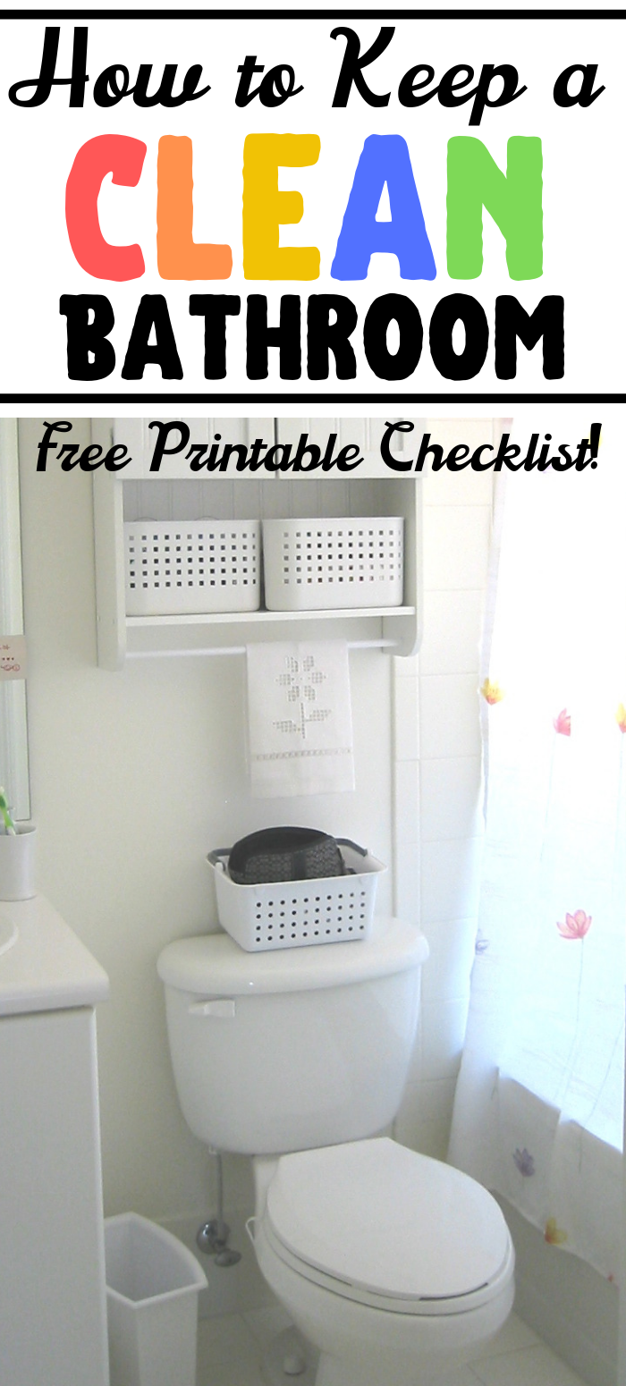 How to Keep a Clean Bathroom