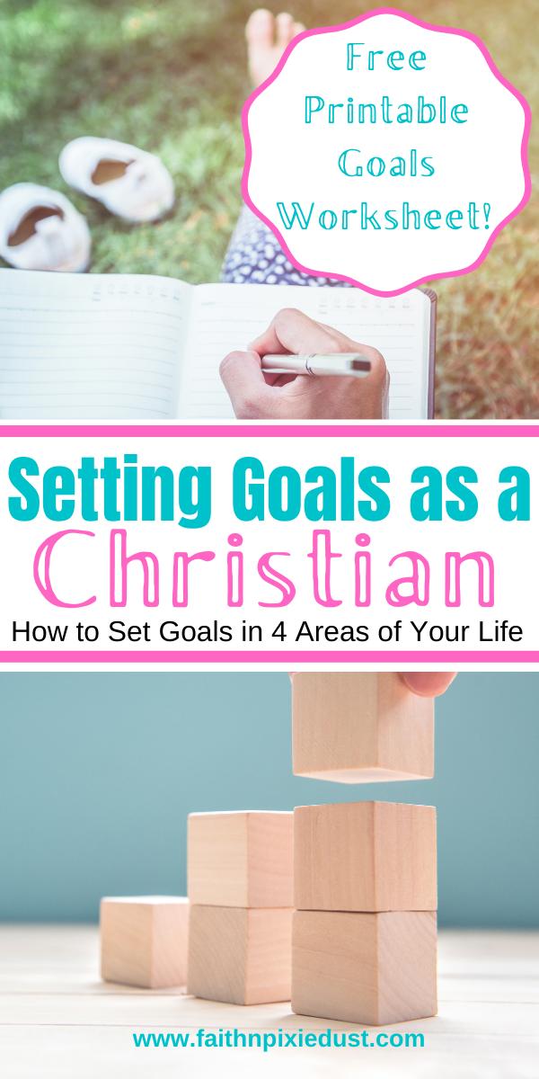Goal Setting as a Christian